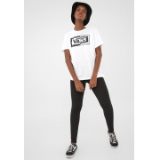 Camiseta Vans Fem Vn0A4Sebwht - Bco