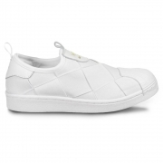 TENIS ADIDAS SUPERSTAR SLIP ON EX1871 - BCO/BCO