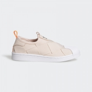 Tenis Adidas Superstar Slip On Fw3569 - Crem