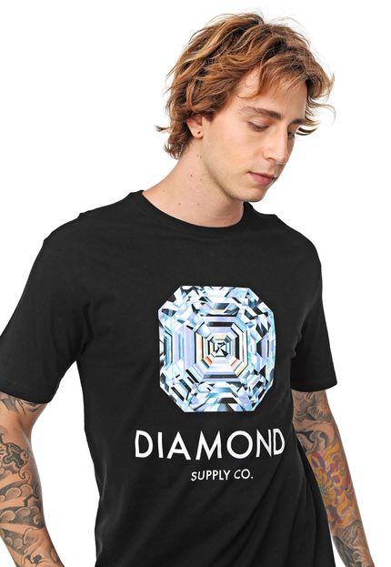 CAMISETA DIAMOND - PRETO
