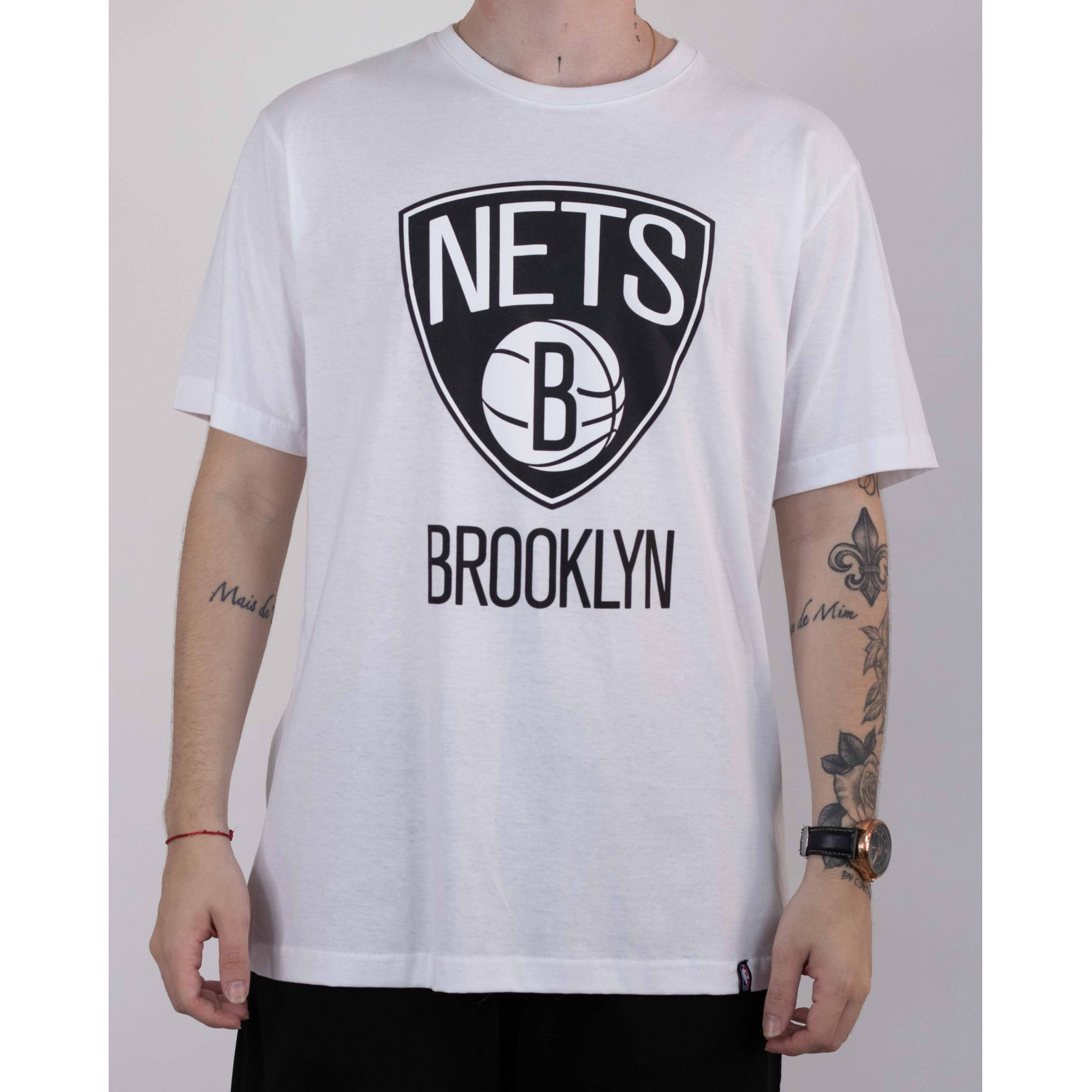 CAMISETA NBA N469A - BCO