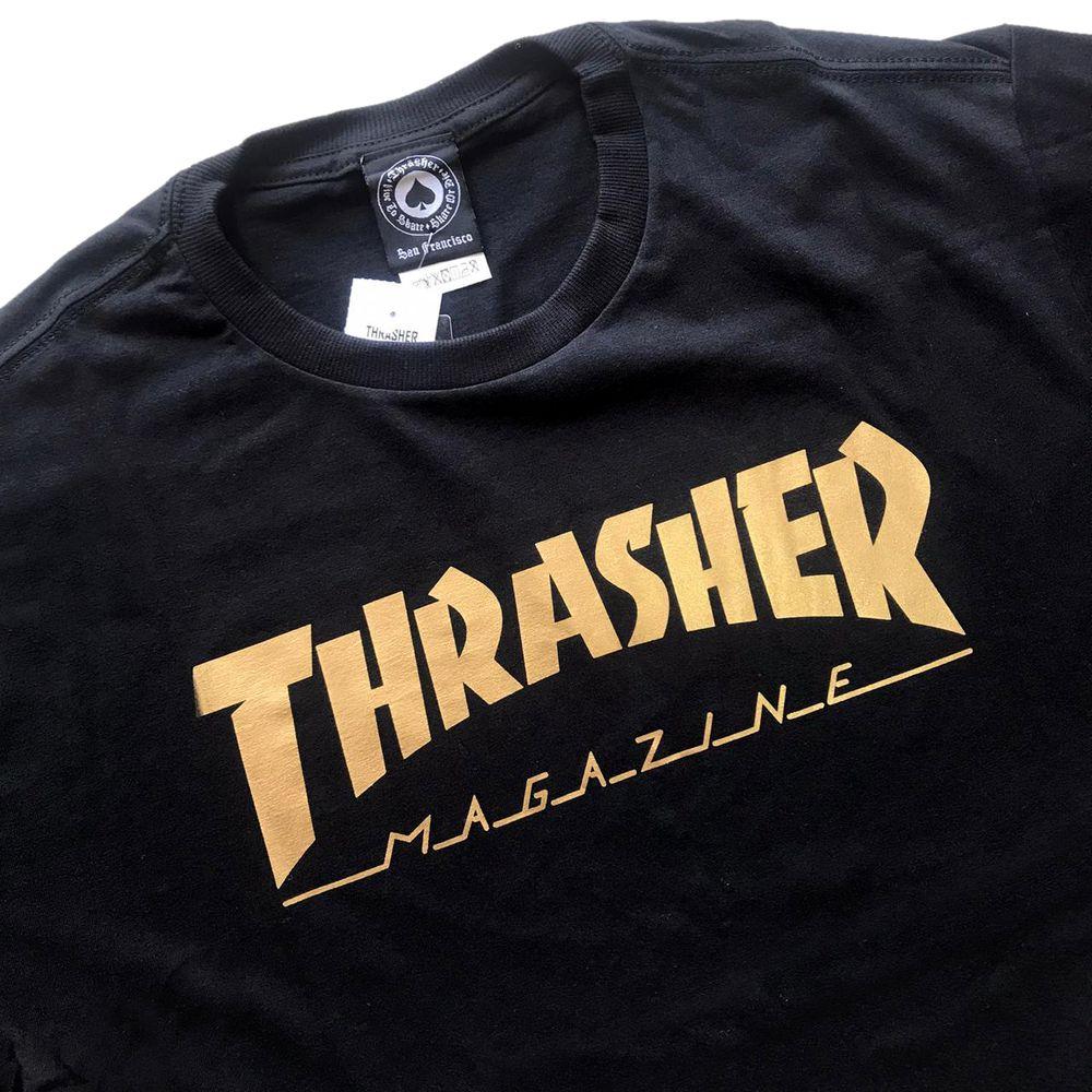 CAMISETA THRASHER 1003020001 - PTO/GOLD