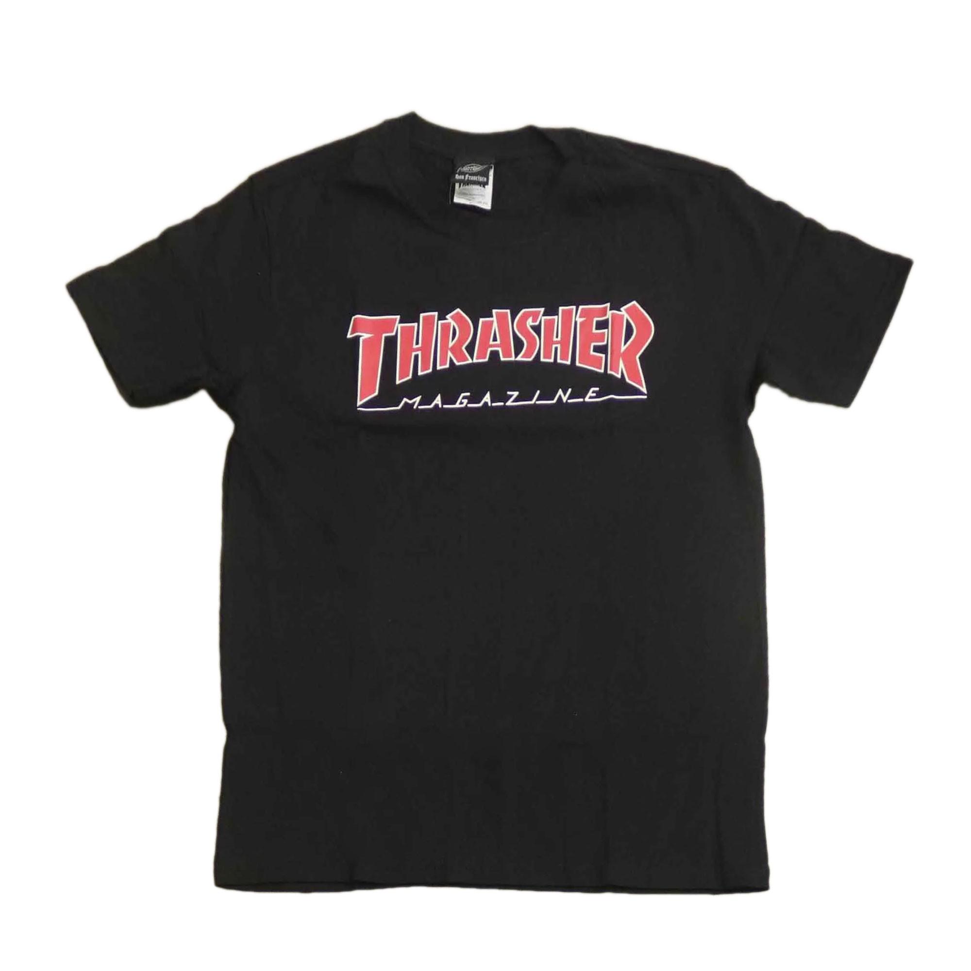 CAMISETA THRASHER 1013020003 - PTO/VRM