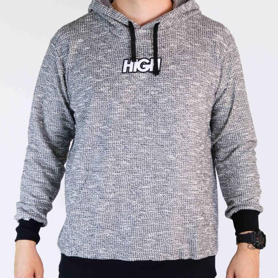 MOLETOM HIGH FLEECE HOODIE HS002 - CIN