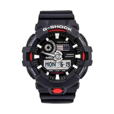 RELOGIO G-SHOCK ANADIGI GA-700-1ADR - PTO