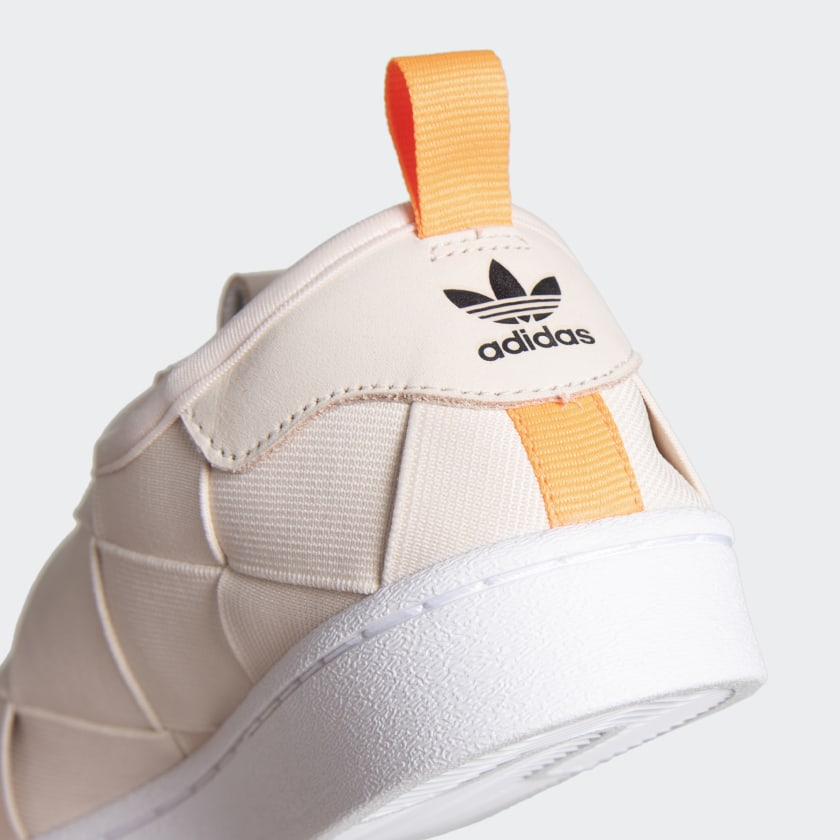 Tenis Adidas Superstar Slip On Fw3569 - Crem