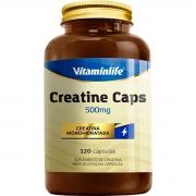 Creatina 500mg 120 Cápsulas Collagen - Vitaminlife