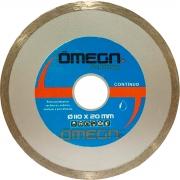 Disco Diamantado Contínuo 110mm Azul - Omega
