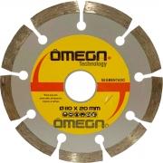 Disco Diamantado Segmentado 110mm Amarelo - Omega