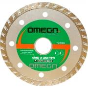Disco Diamantado Turbo 110mm - Omega