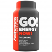 Energy Now 60 Capsulas - 210mg Cafeína - Atlhetica Nutrition