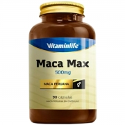 Maca Peruana 90 Caps 500mg - Vitaminlife