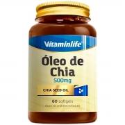 Óleo de Chia 60 Softgels - Vitaminlife