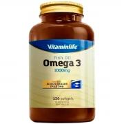 ômega 3 120 Cápsulas - Vitaminlife