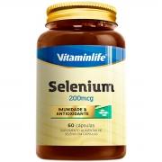 Selenium 200mcg 60 Cápsulas - Vitaminlife