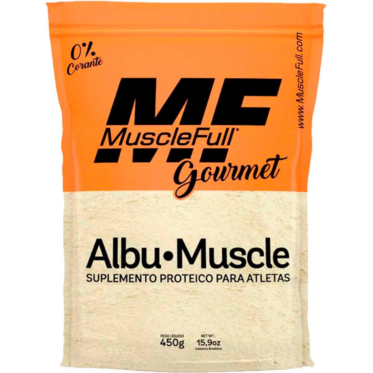 Albumina Albu-Muscle 450g - Muscle Full
