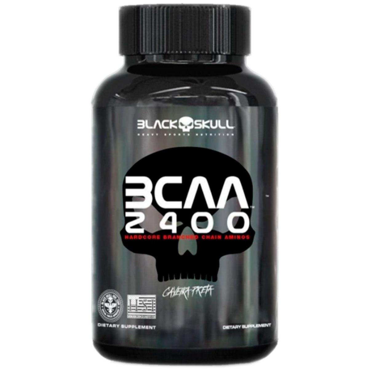 Bcaa 2400 30 Tabletes - Black Skull