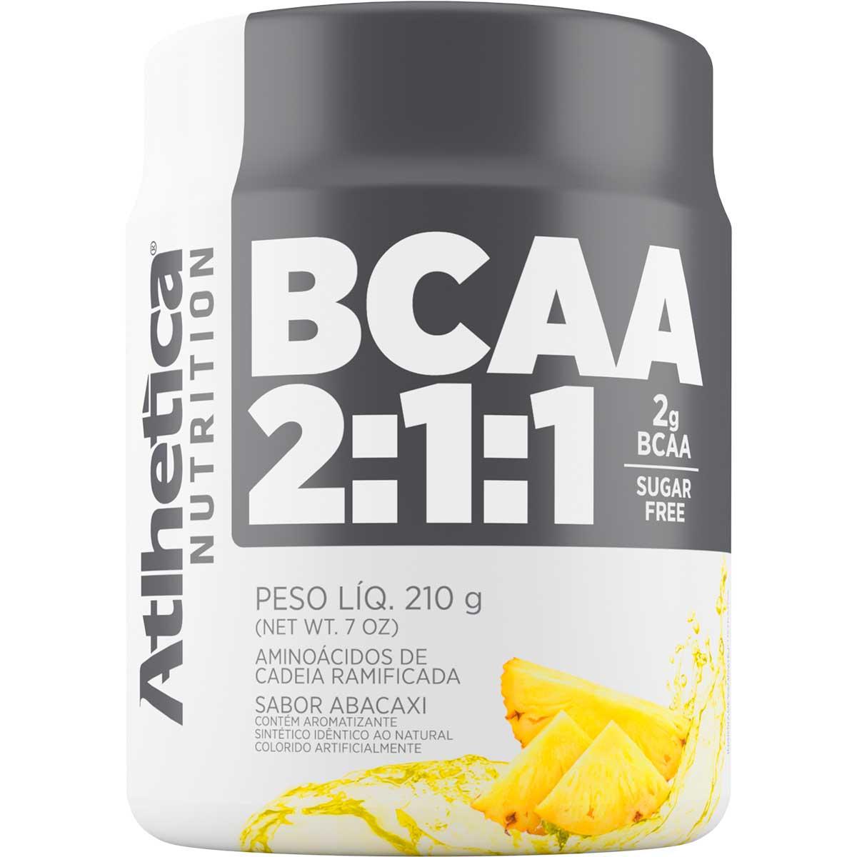 Bcaa Pó 2:1:1 210g - Atlhetica Nutrition