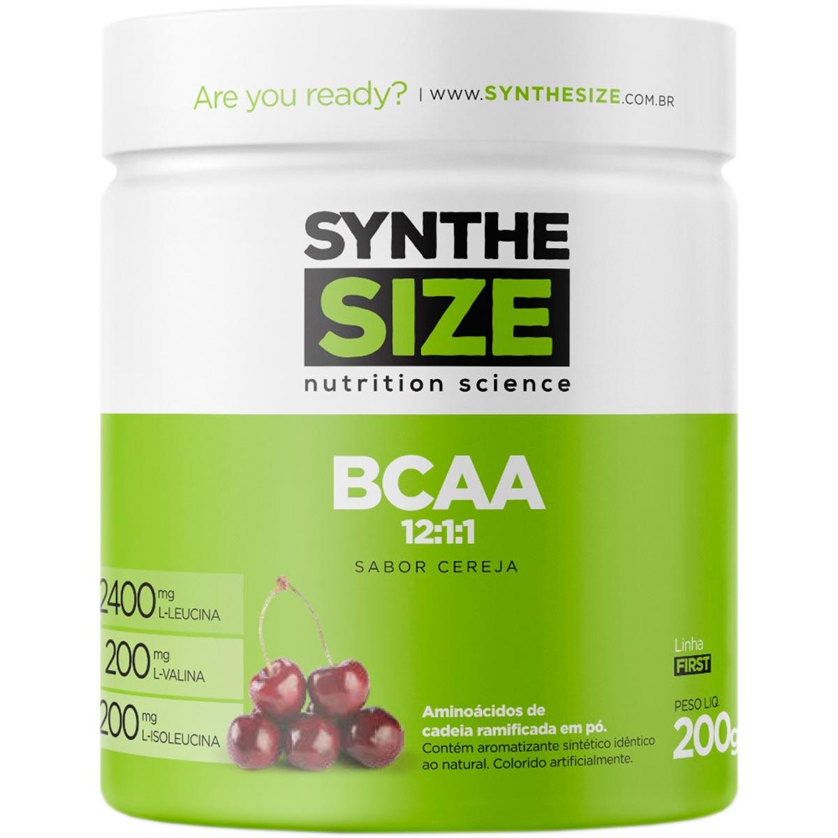 Bcaa Powder 12:1:1 200g - Synthesize