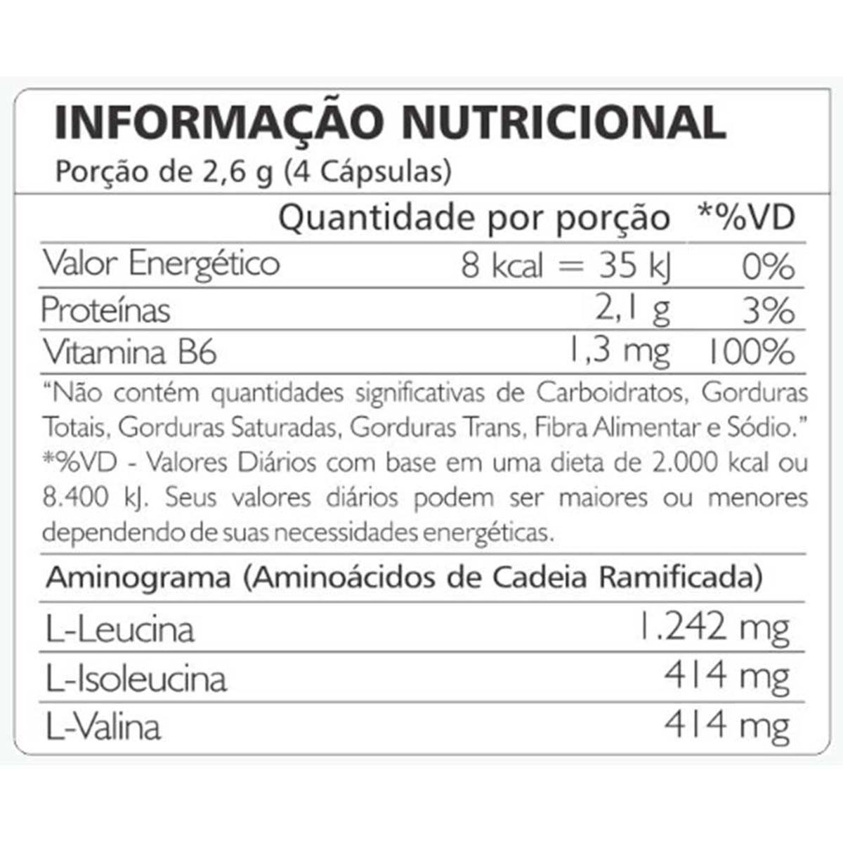 BCAA Recovery 3:1:1 - 120 Cápsulas - Atlhetica Nutrition