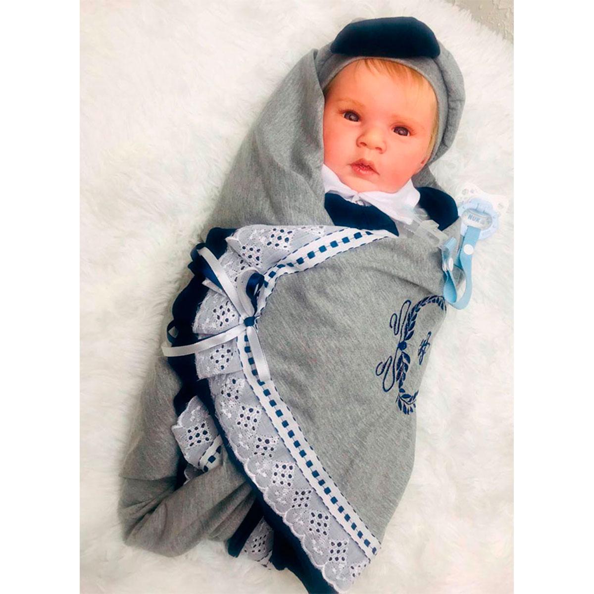 Bebê Reborn Gabriel - Vandreia Silvestre