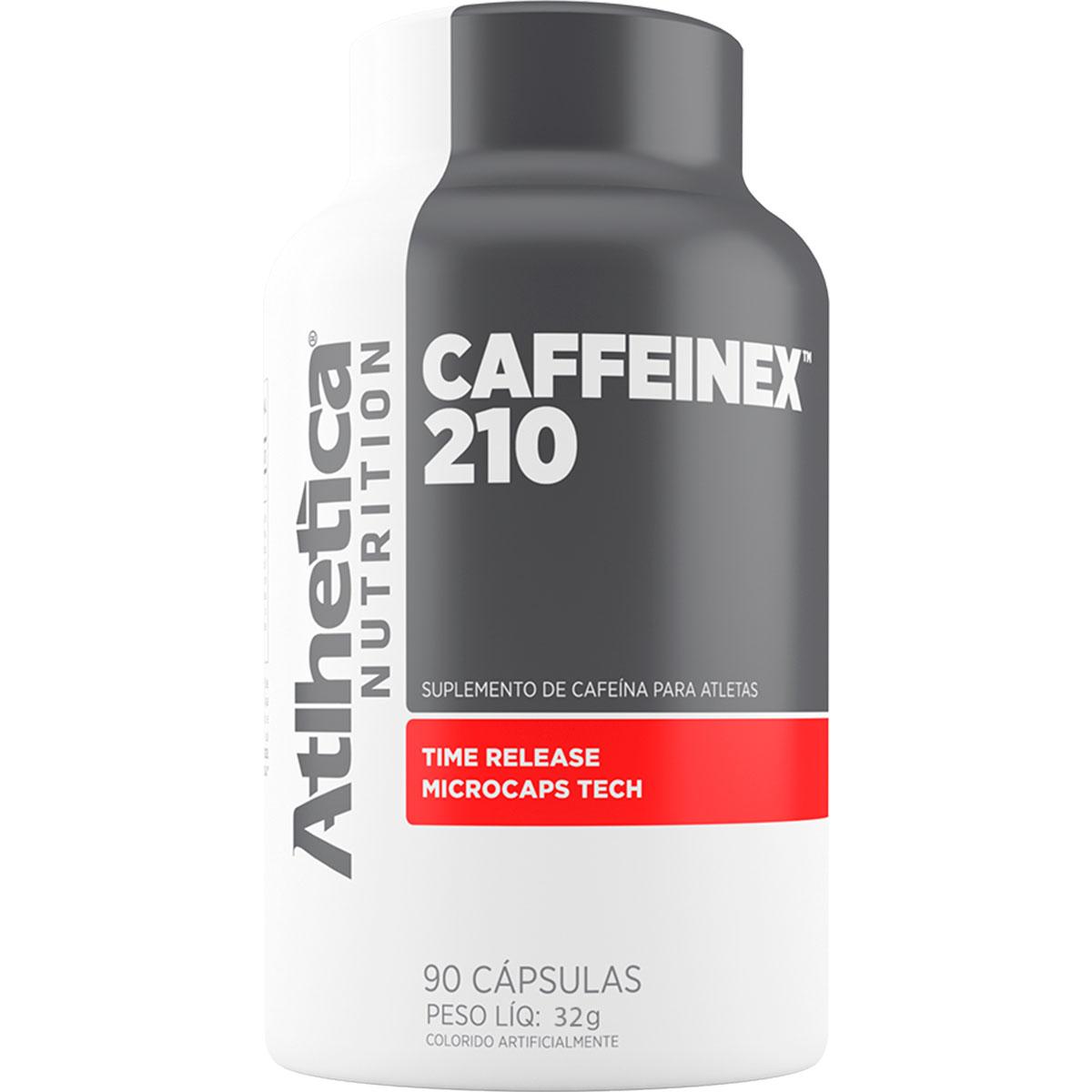 Caffeinex 210mg 90 Cápsulas - Atlhetica Nutrition