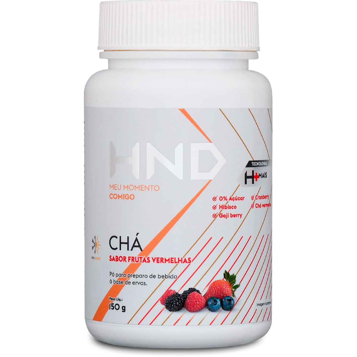 Chá H+ Frutas Vermelhas - 150g - Hinode