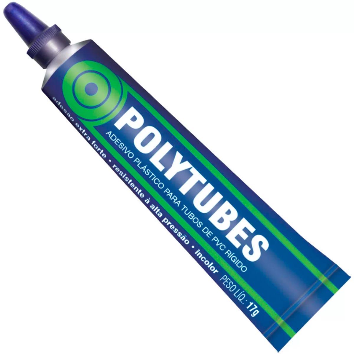 Cola Tubos Pvc Adesivo 17g - Polytubes