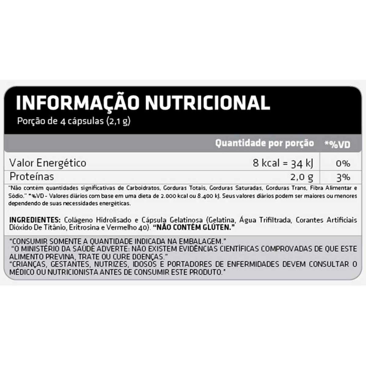 Colageno 120 Cápsulas - Atlhetica Nutrition