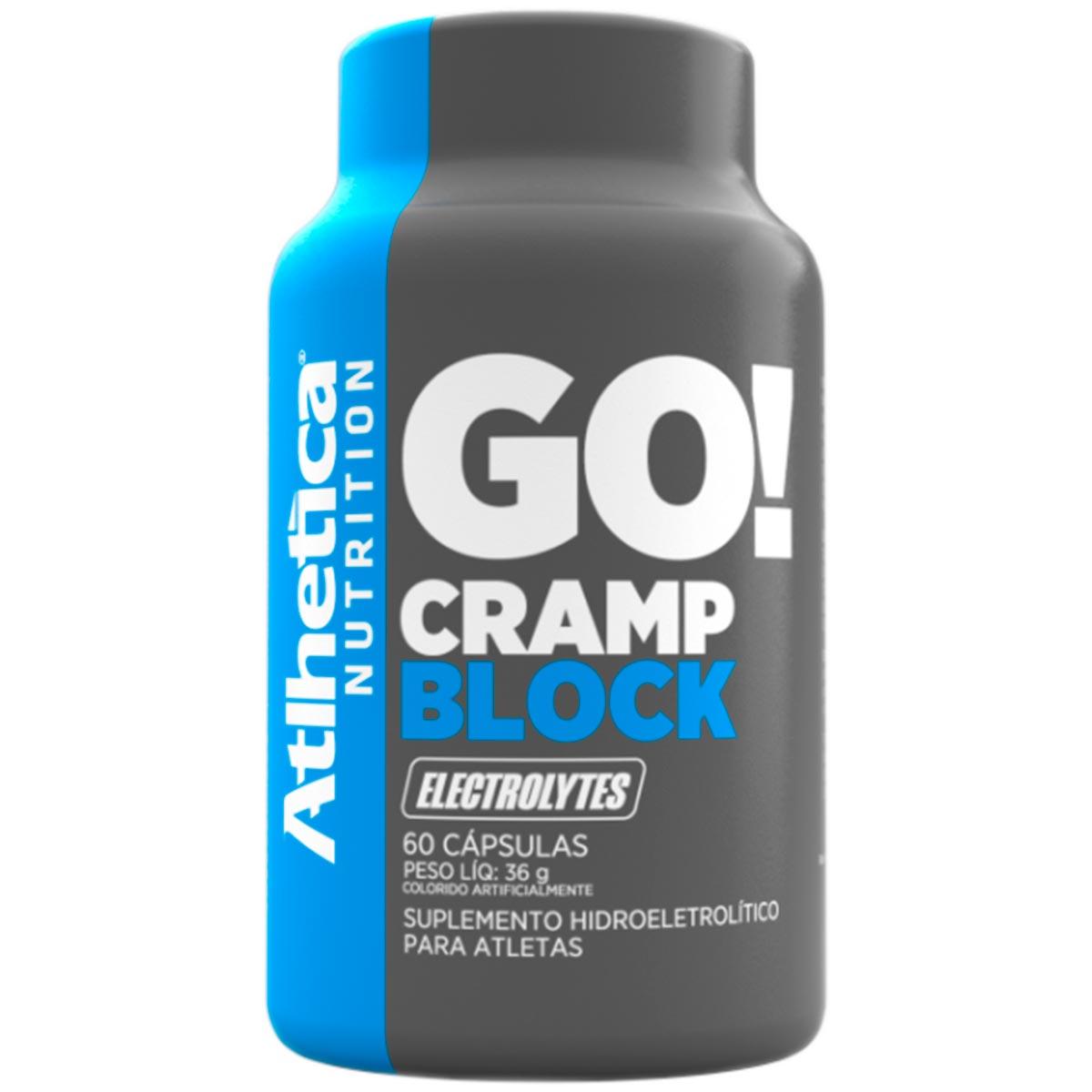Cramp Block - 60 Cápsulas - Atlhetica Nutrition