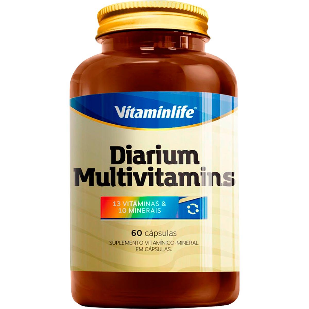 Diarium Multivitamins 60 Cápsulas - Vitaminlife