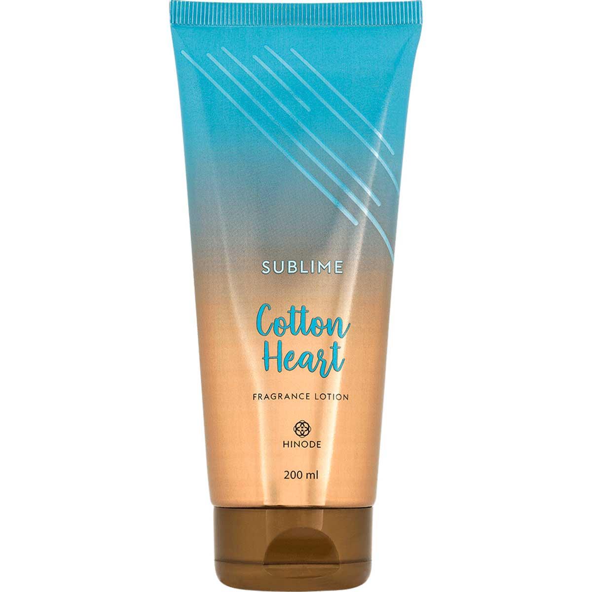 Hidratante Sublime Cotton Heart 200ml - Hinode