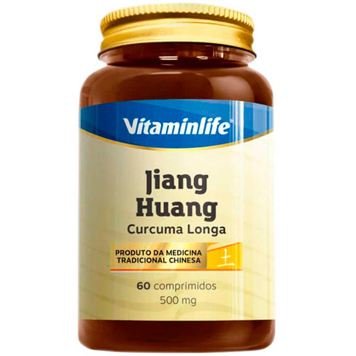 Jiang Huang Curcuma Longa 500mg 60 Cápsulas - Vitaminlife