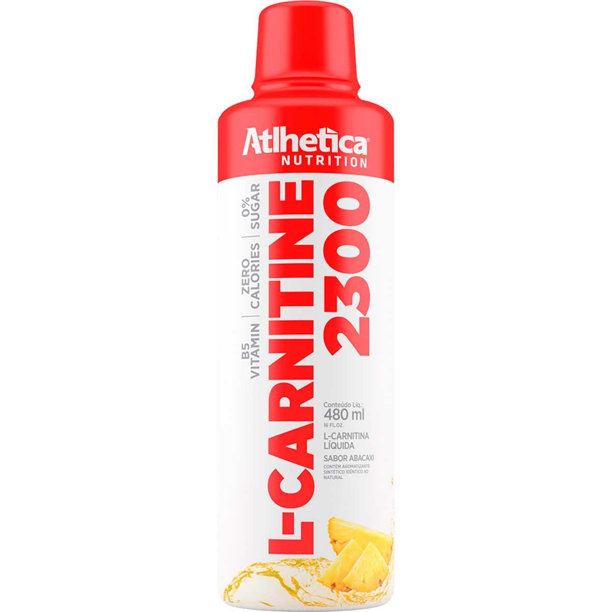 L-Carnitine 2300 - 480ml - Atlhetica Nutrition