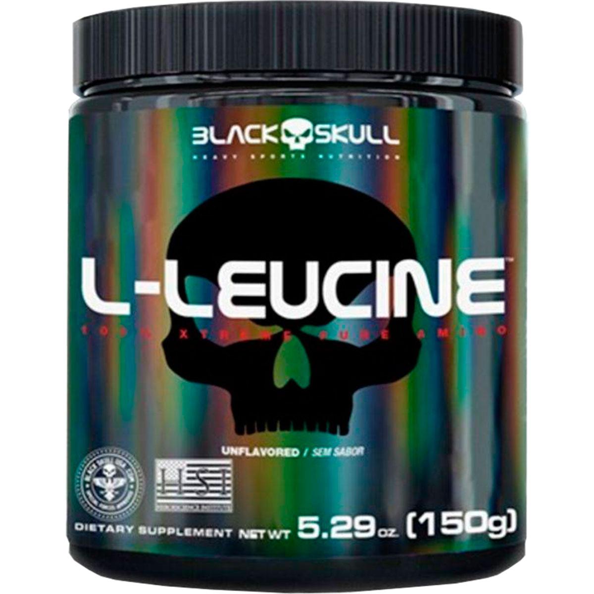 L-Leucine 150g - Balck Skull