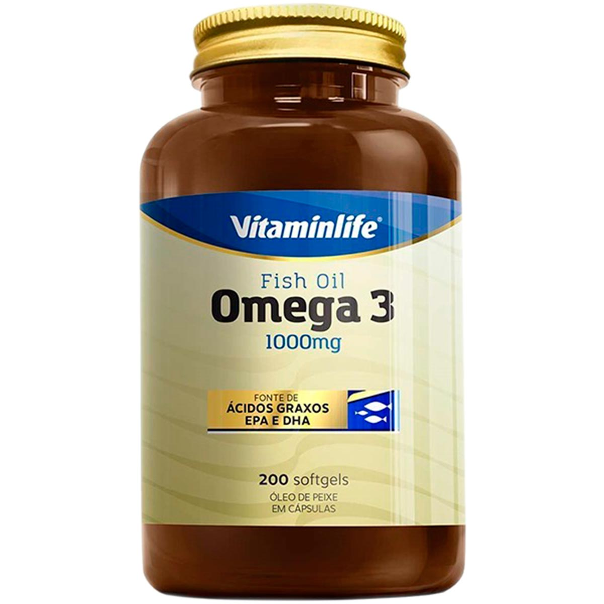 Omega 3 200 Cápsulas - Vitaminlife