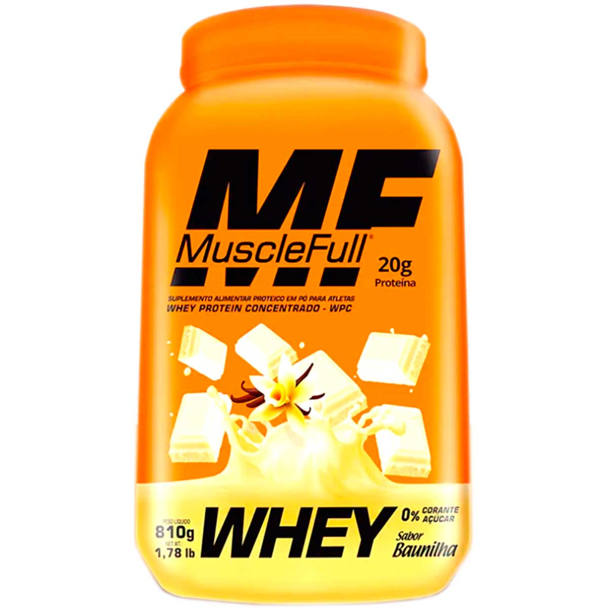 Whey Concentrado Quality 810g - Muscle Full
