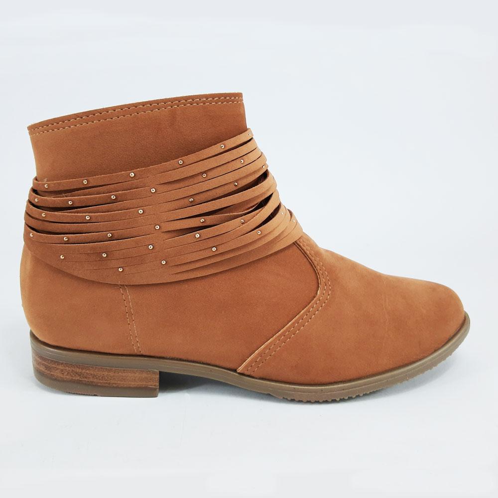 Bota Feminina Moleca  -  FlexPé Calçados