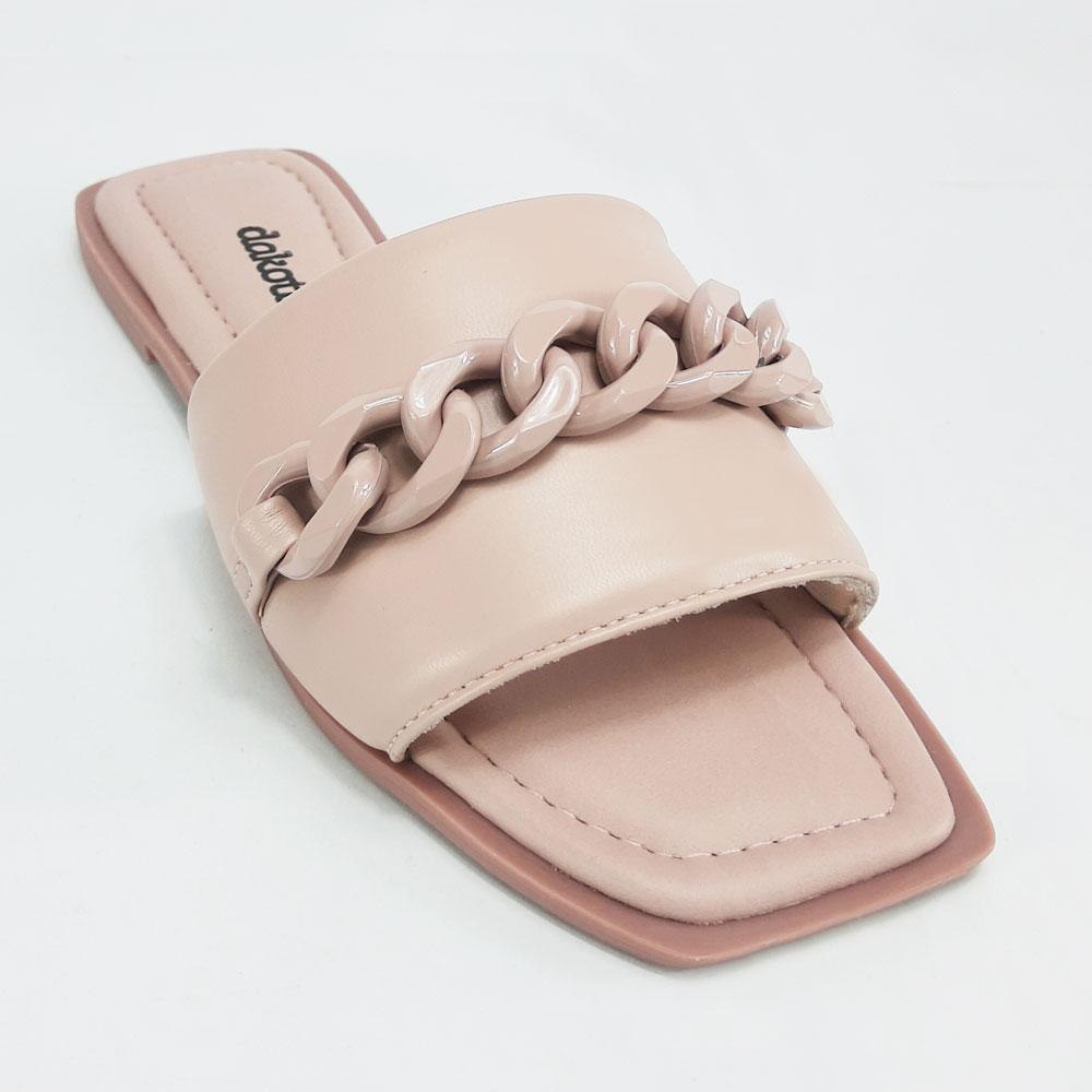 Chinelo Feminino Dakota Slide  -  FlexPé Calçados