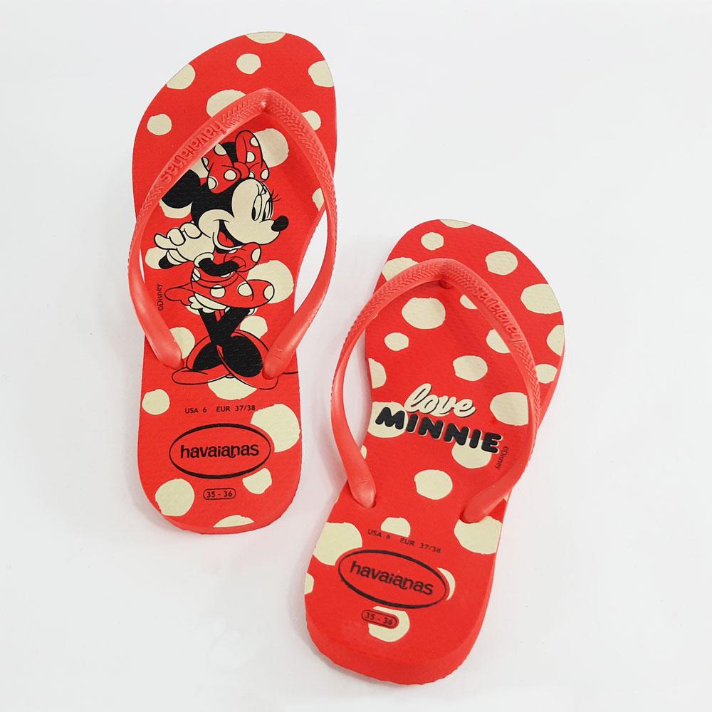 Chinelo Feminino Havaianas Slim Disney  -  FlexPé Calçados