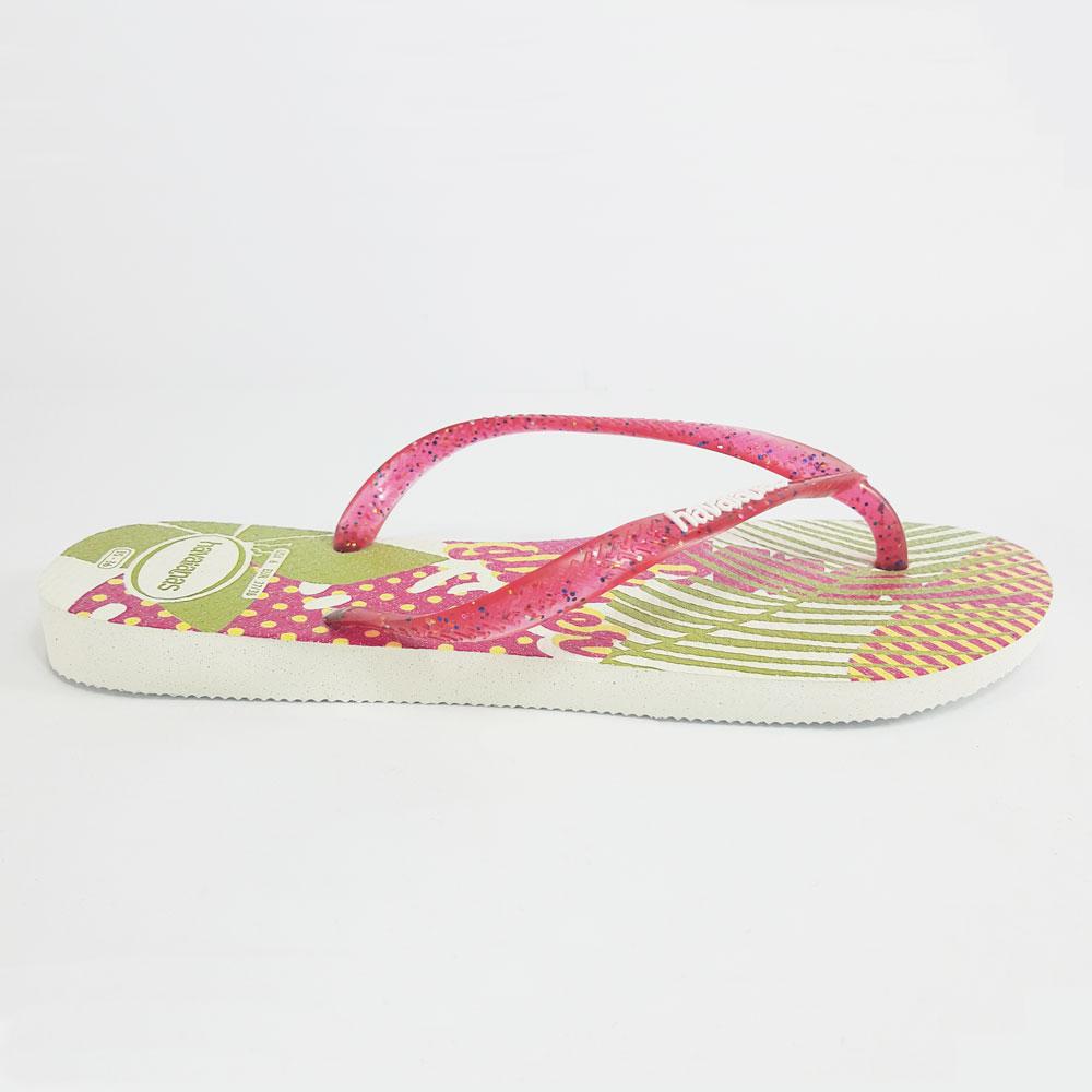 Chinelo Feminino Havaianas Slim Festa  -  FlexPé Calçados
