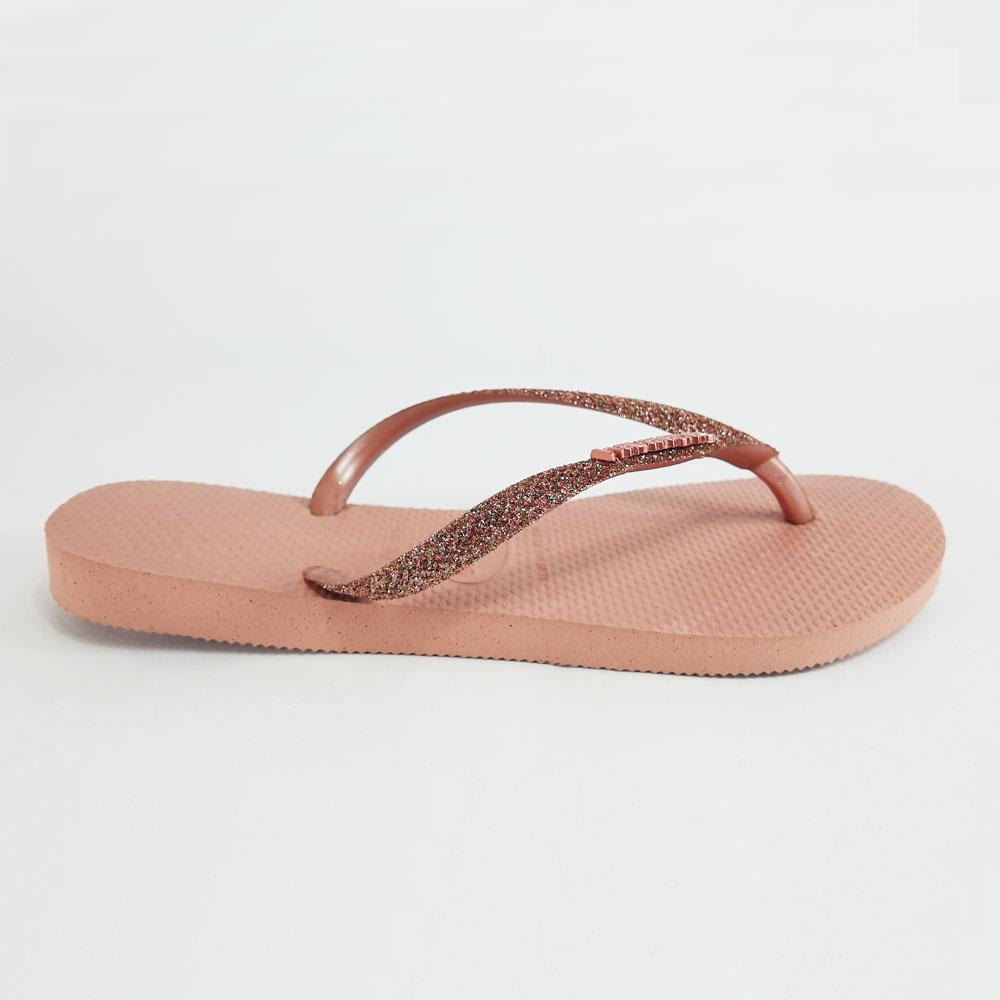 Chinelo Feminino Havaianas Slim Glitter  -  FlexPé Calçados
