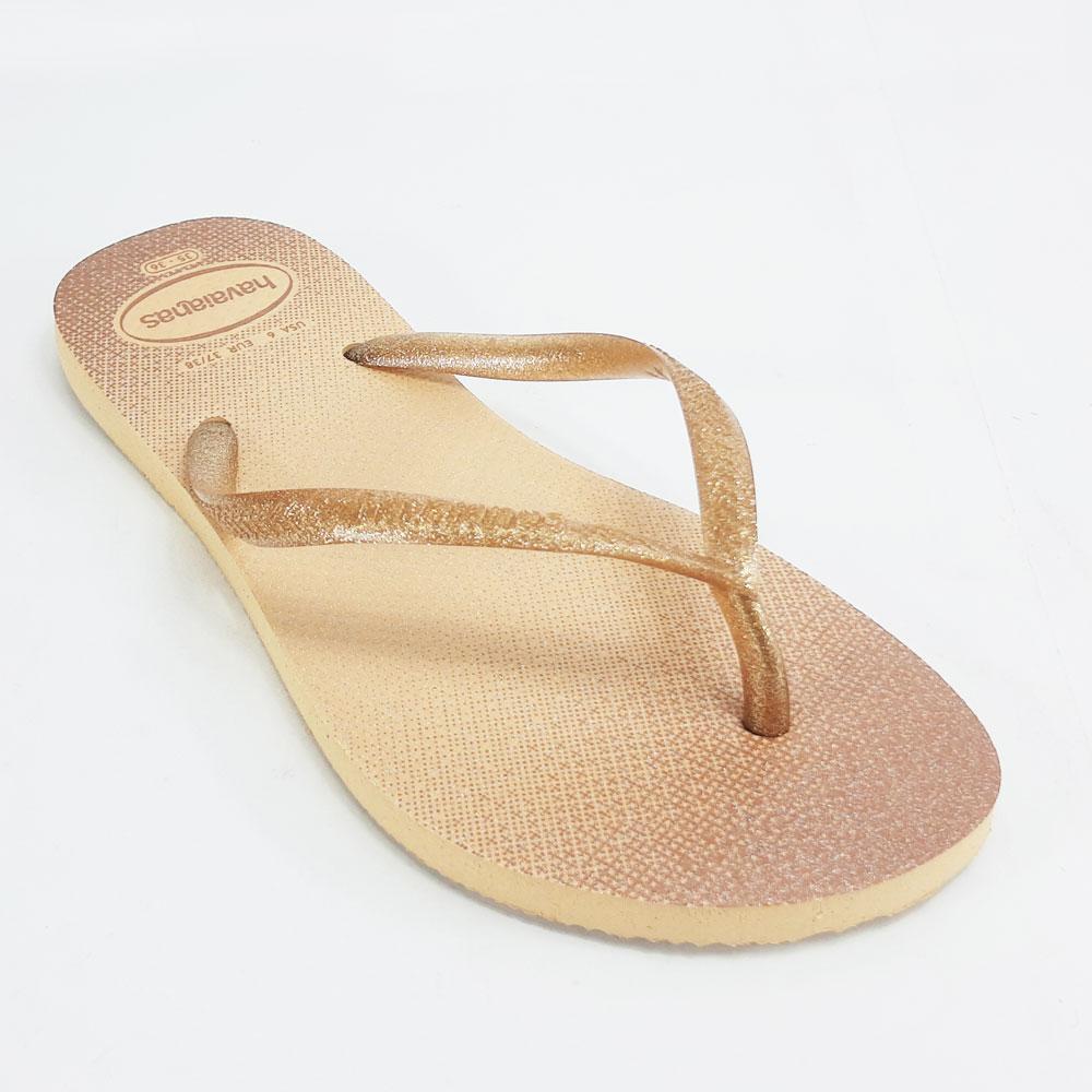 Chinelo Feminino Havaianas Slim Gloss  -  FlexPé Calçados