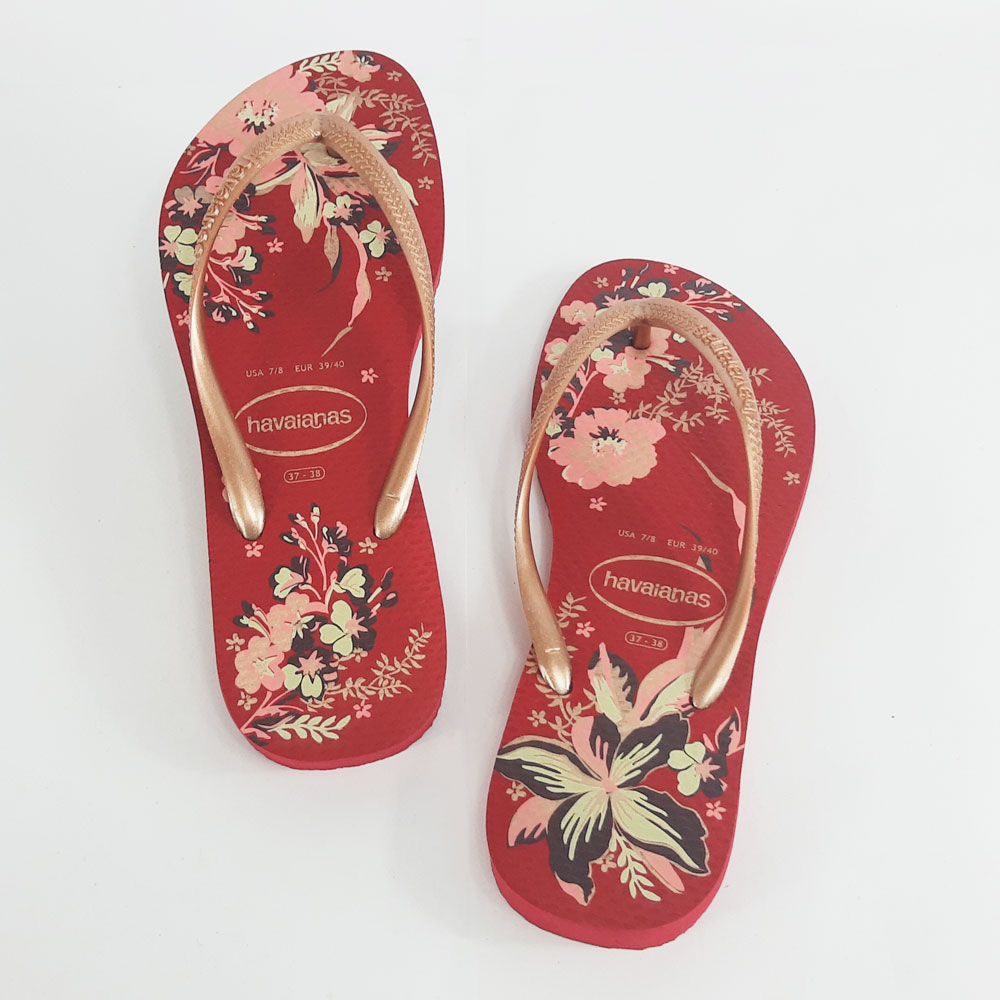 Chinelo Feminino Havaianas Slim Organic  -  FlexPé Calçados