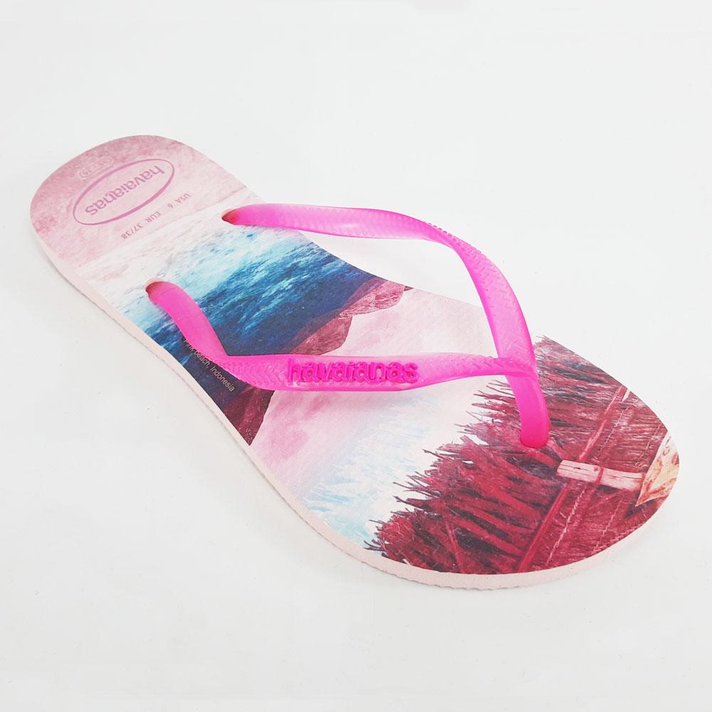 Chinelo Feminino Havaianas Slim Paisage   -  FlexPé Calçados