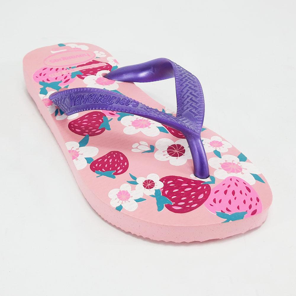 Chinelo Infantil Havaianas Kids Flores  -  FlexPé Calçados