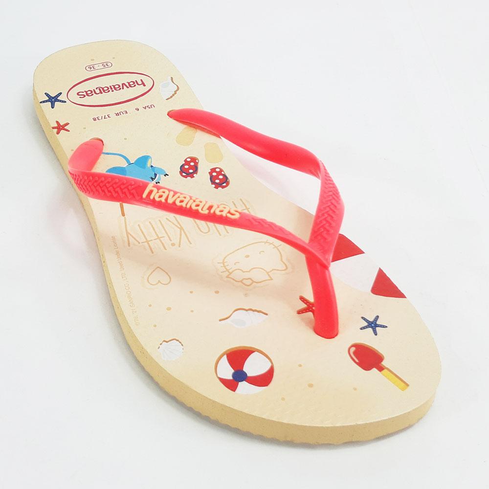 Chinelo Infantil Havaianas Slim Hello Kitty  -  FlexPé Calçados