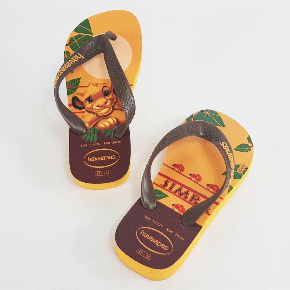 Chinelo Infantil Havaianas Rei Leão   -  FlexPé Calçados