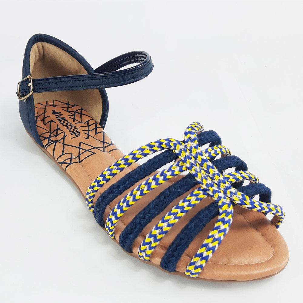 Rasteira Feminina Mississipi  -  FlexPé Calçados