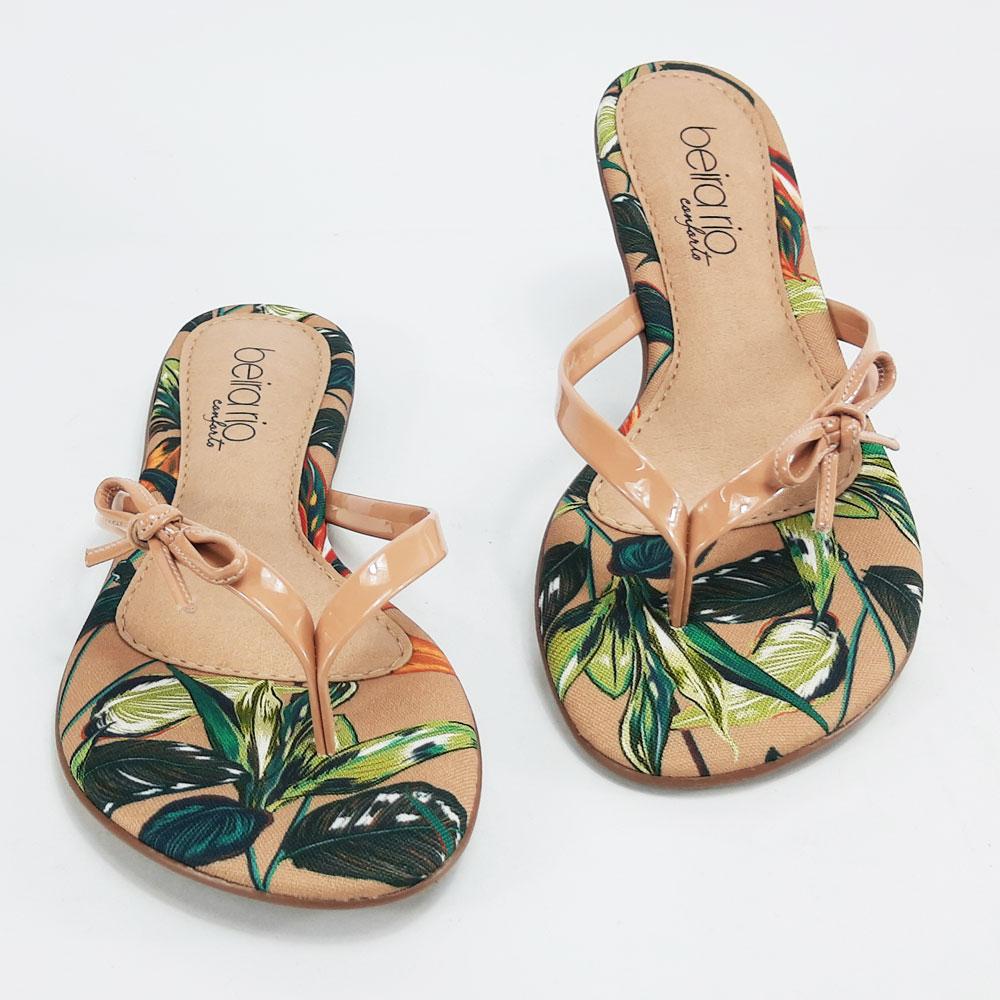 Rasteira Feminino Beira Rio  -  FlexPé Calçados